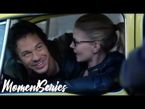 Эмма знакомится с Нилам: момент сериала Однажды в сказке 2 сезон 6 серия