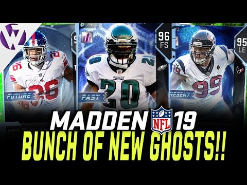 bunch-of-new-ghosts!-brian-dawkins,-jj-watt,-and-more!!---madden-19-pack-opening