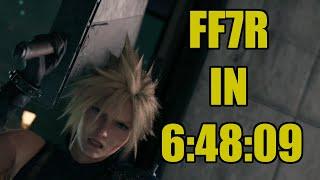 FF7R Any% Normal Speedrun in 6:48:09 (wr)