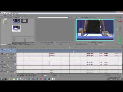 How to edit Multiple cameras (multicam) in Sony Vegas Pro