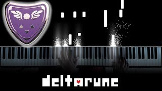 "Delta Rune (Undertale 2) OST / Ending Theme - ""Don't Forget"" (Piano)"