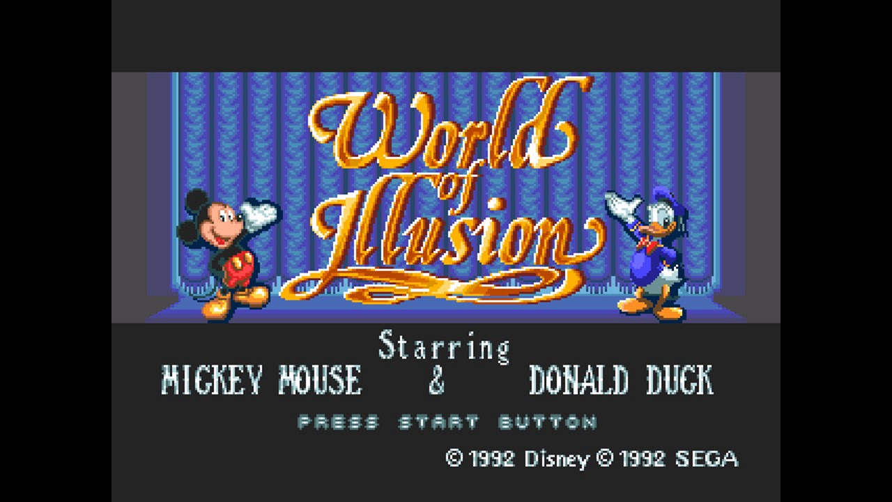 World of Illusion (Genesis): Level 3-5 music ( Ace Attorney soundfont)