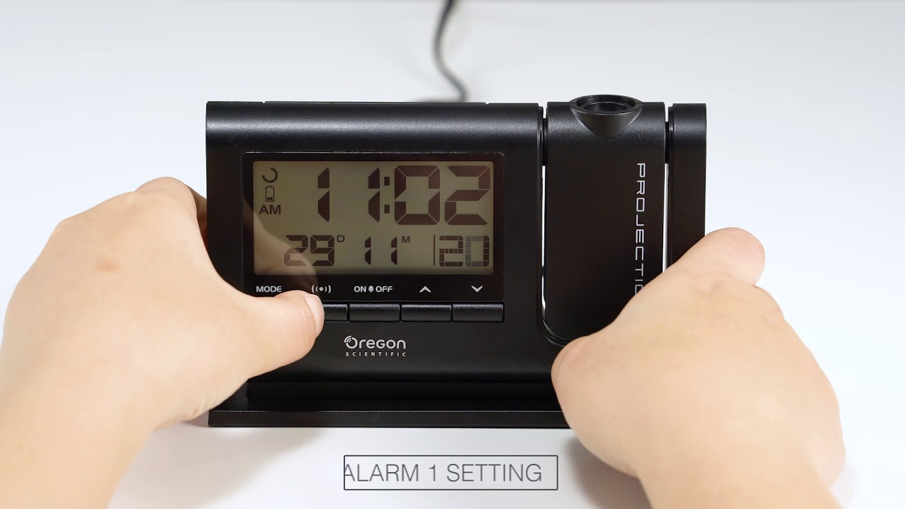 Classic Dual Alarm Projection Clock