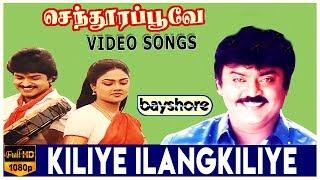 Kiliye Ilangkiliye - Senthoora Poove Video Song   Vijayakanth   Ramki