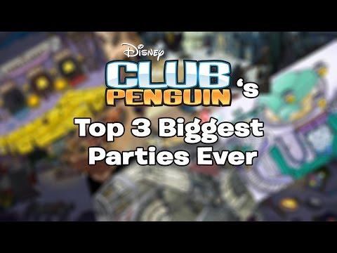 Club Penguin's Top 3 BIGGEST Parties Ever