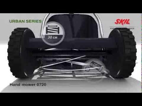 Механическая газонокосилка AL-KO Comfort 38 Soft Touch - YouTube