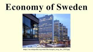 Economy of Sweden