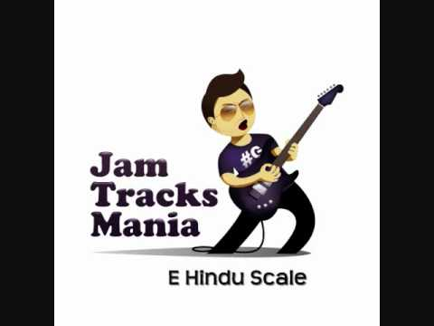 E Hindu Scale Backing Track (Mixolydian b6)