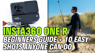 Insta360 ONE R: Beginners Guide + 10 Easy Shots Anyone Can Do (Including Insta360 App Editing!)