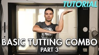 How to do a Basic Tutting Combo - Part 3 (Hip Hop Dance Moves Tutorial) | Mihran Kirakosian