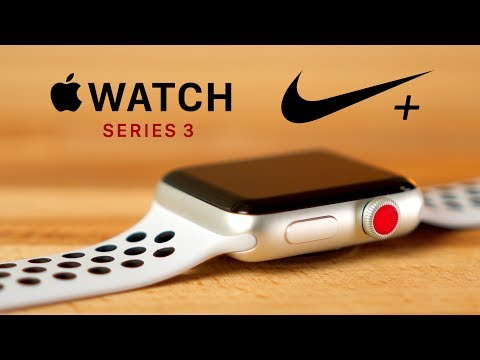 on feet shots of fantastic savings uk availability Apple Watch Series 3 Nike + - YouTube
