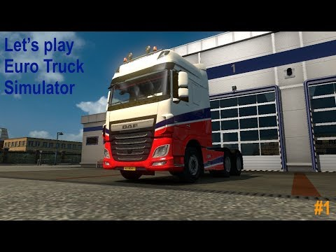 Euro Truck Simulator 2 - Episode 1 - Van Rotterdam naar Duisburg