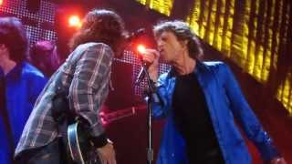 The Rolling Stones with Dave Grohl  - Bitch ( Front Row ) - Live @ The Honda Center 5-18-13 in HD