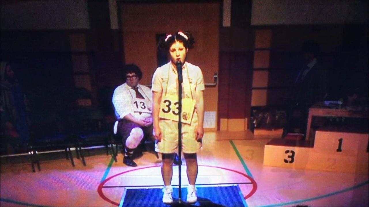 Nicole Sartor - Olive in Spelling Bee - YouTube