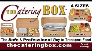 Download Video The Catering Box - SERVE FOOD RIGHT OUT OF THE BOX MP3 3GP MP4
