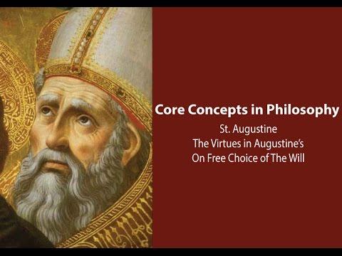 The Virtues in Augustine's On Free Choice of The Will - Phil