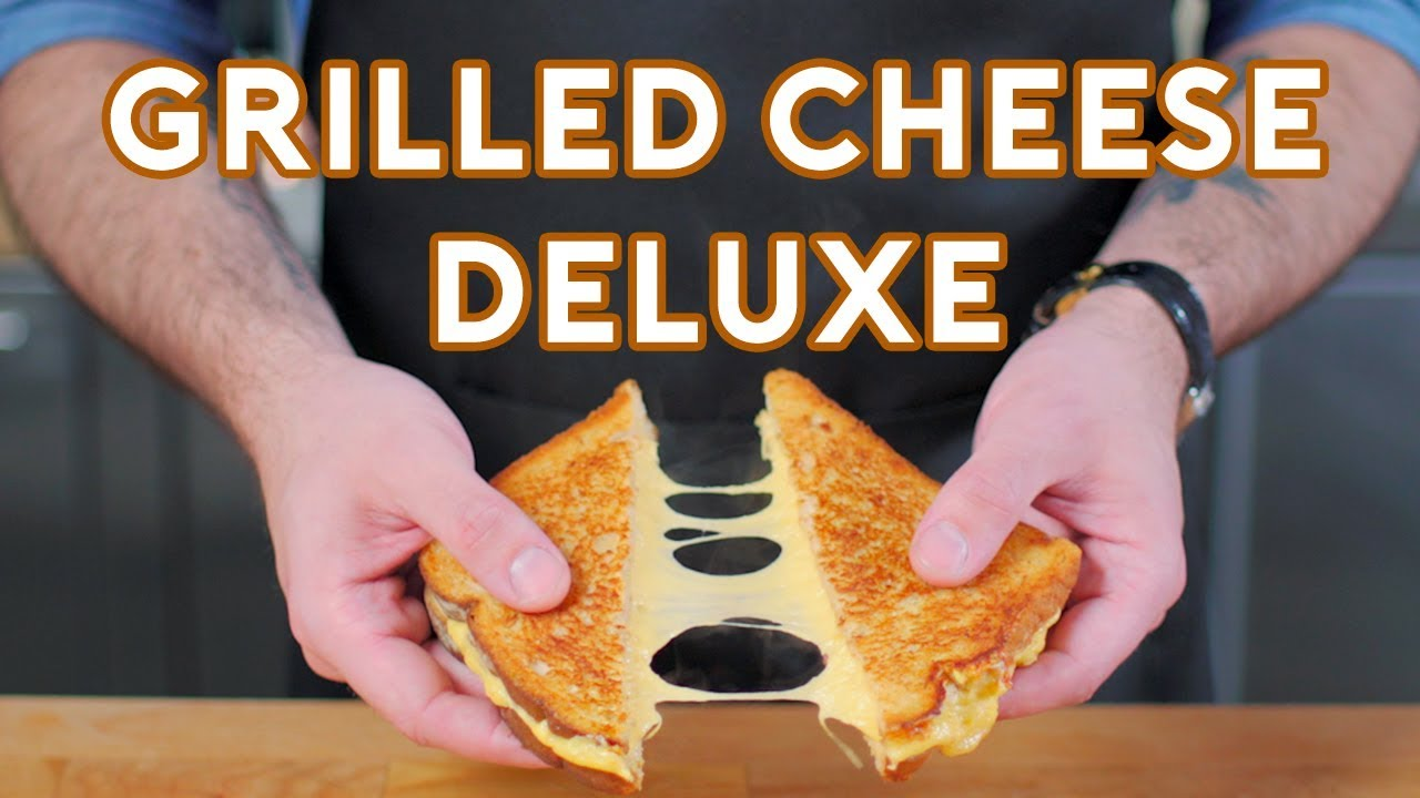 Binging With Babish Grilled Cheese Deluxe From Regular Show