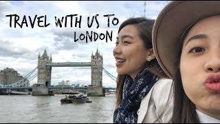 倫敦不是美食沙漠!跟我去旅行 |Travel with Me - London Vlog|Sharonsharbear