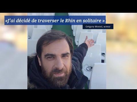 «J'ai décidé de traverser le Rhin en solitaire». Grégory Montel, solidaire de François Gabart.