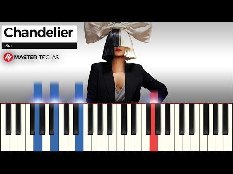 💎 Chandelier - Sia  Piano Tutorial 💎