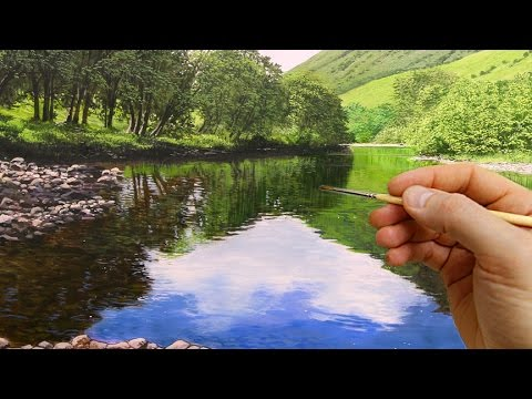 How to paint water oil painting tutorial youtube for Painting on water tutorial