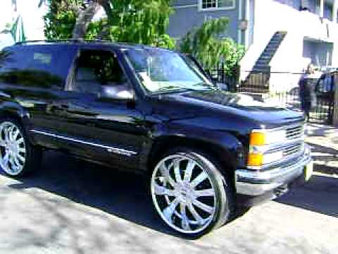 2 Door Tahoe On 28s