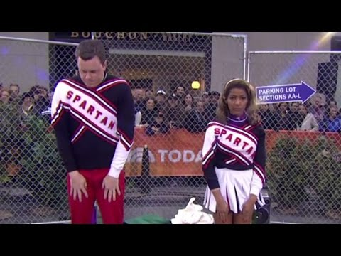 Thumbnail: 'Spartan Cheerleaders' Willie Geist, Tamron Hall: TODAY's SNL Halloween