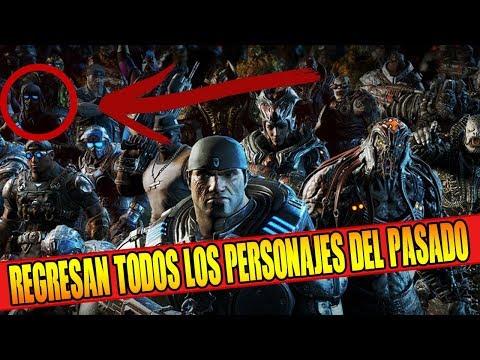 REGRESAN TODOS LOS PERSONAJES DEL PASADO!! NUEVO PACK FRENESÍ   GEARS OF WAR 4