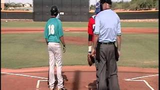 Austin vs Heat-AZ Collegiate Wood Bat League part 1.mpg