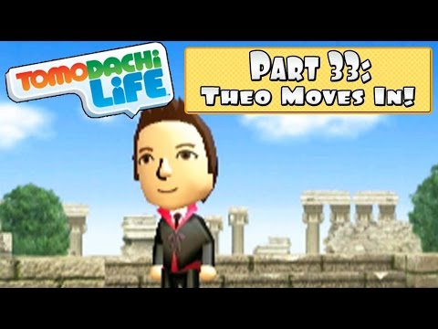 Tomodachi Life 3DS - Part 33: Theo Moves In + SpotPass Food Mart Outfit !