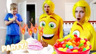 The Emoji Movie Party!