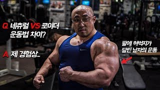 """""""체중 120kg"""" 헤비급 보디빌더의 비시즌 [ 어깨운…"""