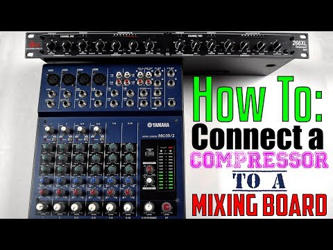 How To: Connect A Compressor To A Mixing Board (Using Send/Return or Mackie Insert Trs Wiring Diagram on