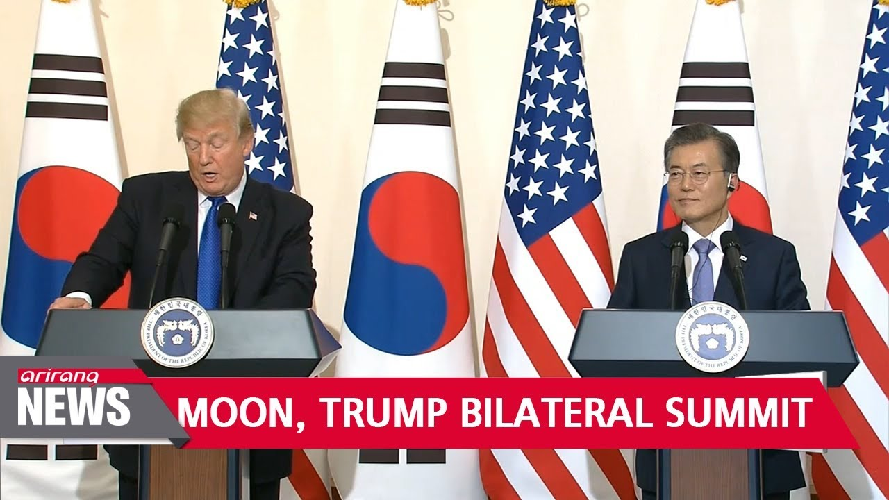 Image result for Moon-Trump Summit