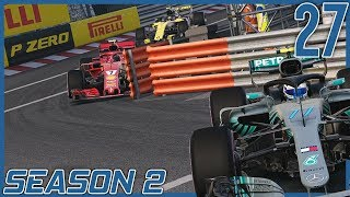 One of the Stupidest Things I've Ever Seen | F1 2018 Williams Career Mode S2 Ep. 27 | Monaco