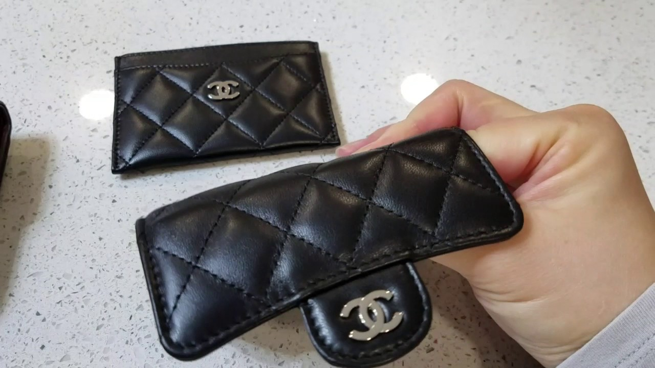 best website e35f5 b079a Chanel Wallet versus Card Holder versus Card Case in Lambskin - Comparsion  and Review