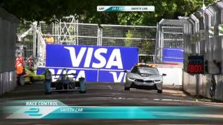 Formula E 2015. Round 10. London. UK. Race