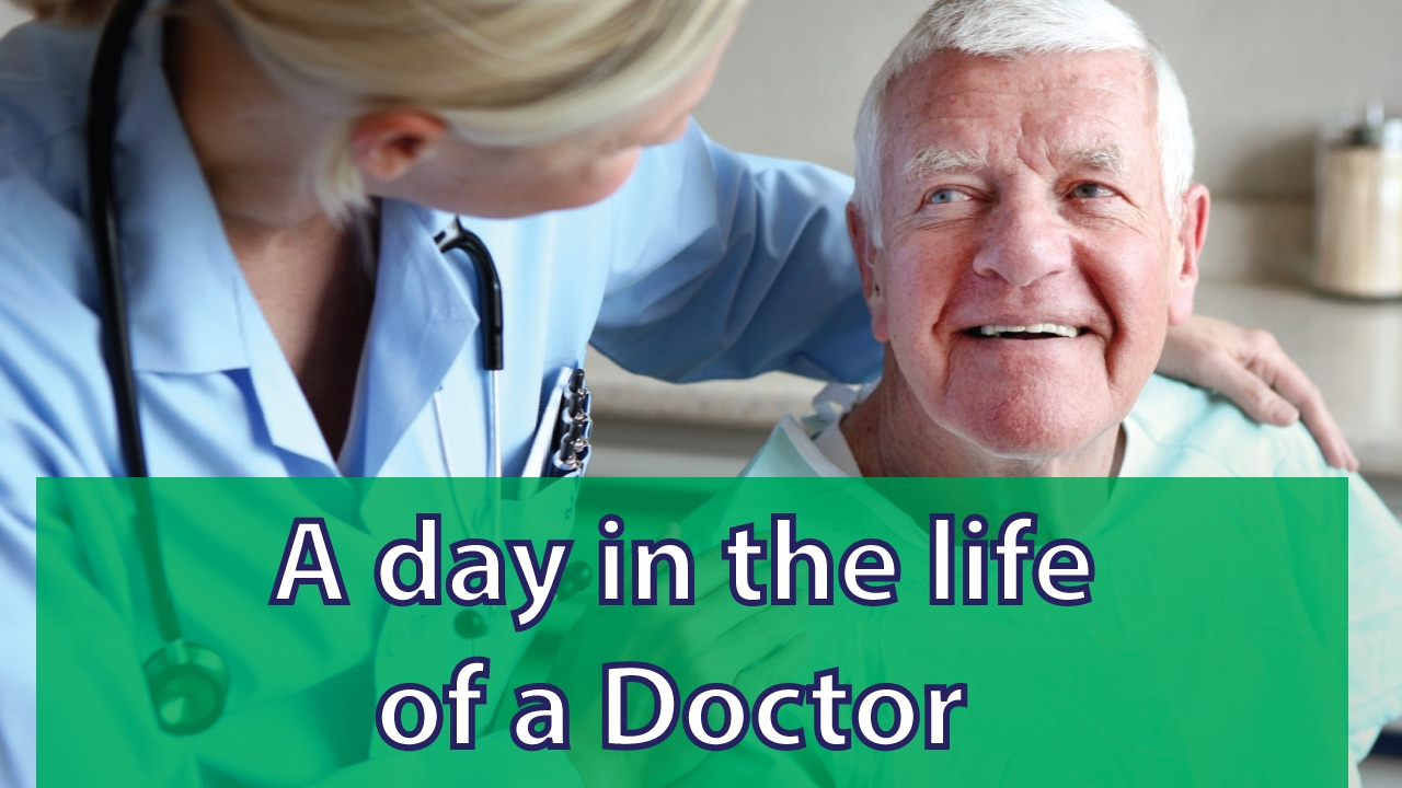 a day in the life of a doctor A day in the life of a physician doctors can pursue many career paths, including private practice, university-hospital work, or a job with a health maintenance organization.