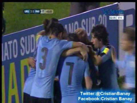 Uruguay 4 Paraguay 0 (Relato Martin Perazzo) Eliminatorias a Rusia 2018