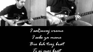 7 dana (Instrumental guitar cover + Lyrics) - EKV