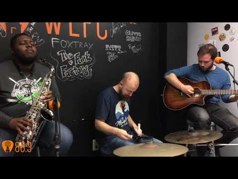 88.3 WFLC live performance and interview with Moths in the Attic - 11.4.19
