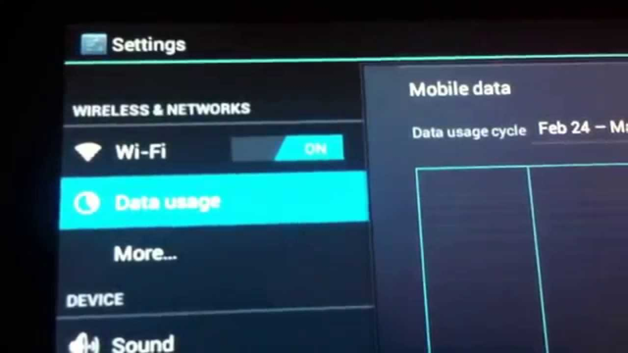 Android tablet wifi not working