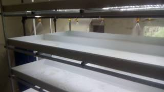 Гидропонная установка от компании Теплица Люкс(Гидропонная установка для выращивания зелени производства предприятия Теплица Люкс., 2016-09-16T11:25:55.000Z)