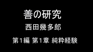 【結月ゆかり朗読】『善の研究 第1編 第1章』 西田幾多郎