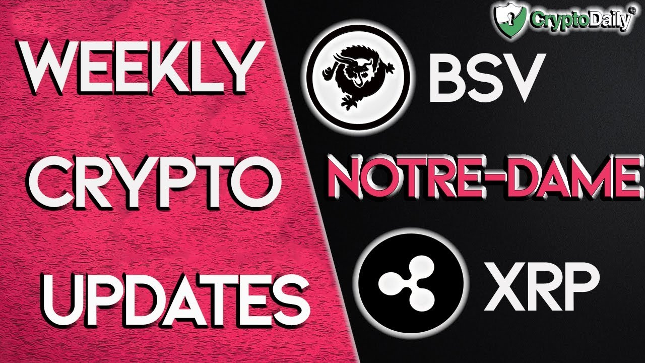Cryptocurrency news this week (April 2019)