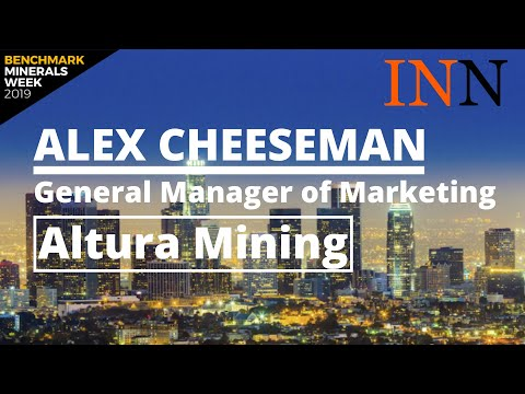 Alex Cheeseman, Altura Mining: Aiming To Be WA's Lowest-cost New Lithium Producer