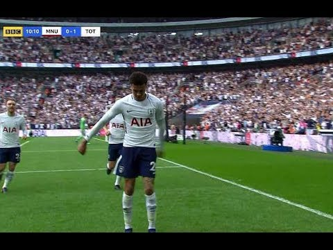Dele Alli FORNITE Celebration (DELE ALLI DOES THE FLOSS) *Fornite Dances in Football*