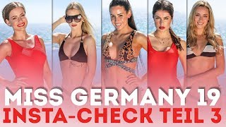 Kandidatinnen-Check Teil 3 | MISS GERMANY 2019