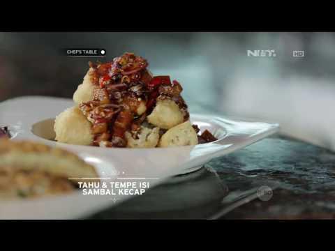 Chef's Table - Tahu & Tempe Isi Sambal Kecap