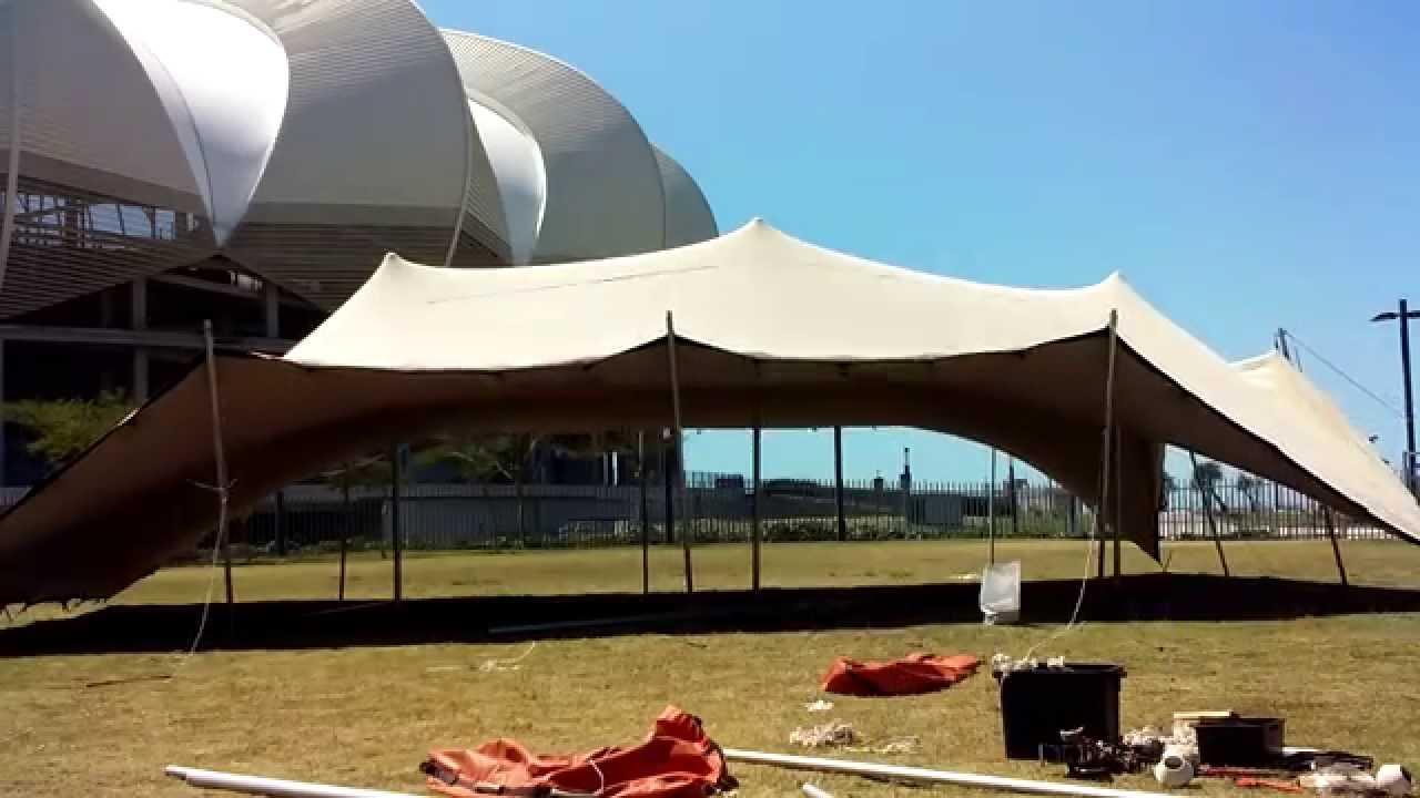 Stretch tent timelapse & Stretch tent timelapse - YouTube
